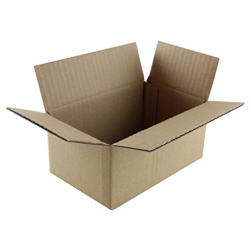 """Price comparison product image HGP 6"""" x 4"""" x 3"""",  100 pack,  Corrugated Cardboard Shipping Mailing Moving Boxes"""