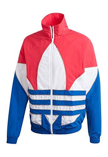 adidas B TF out WVN TT Sweatshirt, Hombre, Power Pink/White/Team Royal Blue/Trace Khaki f17, L