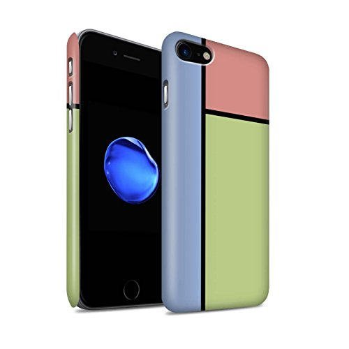 Stuff4 Telefoonhoesje/Cover/Skin/IP-3DSWM / Pastel Tegels Collectie Apple iPhone SE 2020 3 Tegels/Groen
