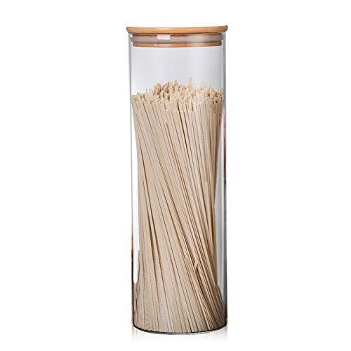hsy Conjunto de Recipiente hermético,Tarro de Galletas Cocina Sweet Jar Gabinete de bocadillos para Cocina Tapas herméticas Mesa DE Bodas Centro Pieza Dulces Tapa para Galleta de Pasta Tapa Chatney