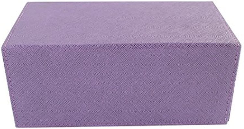 Creation Line Deck Box  Large Purple by Dex Predection