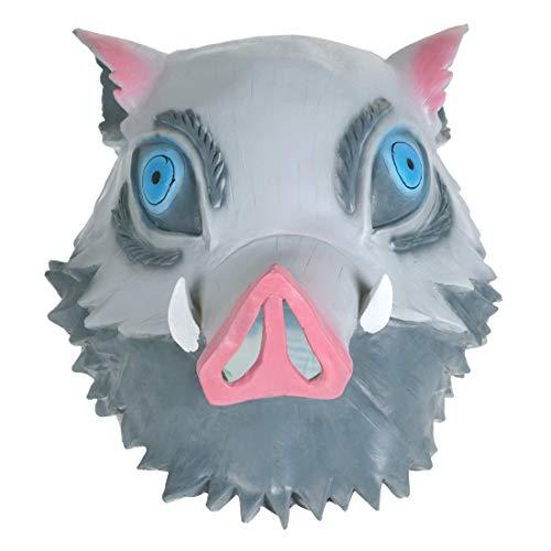 CoolChange Màscara en Latex de Inosuke Hashibira de Kimetsu