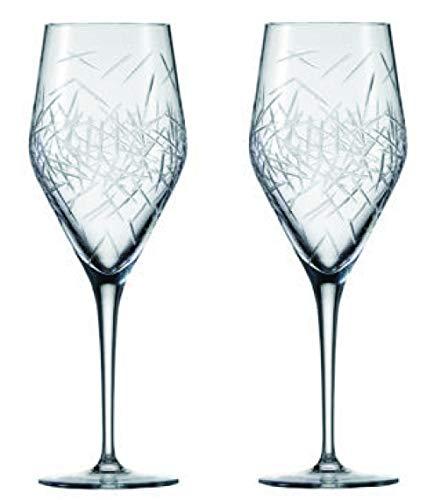 Zwiesel 1872 Hommage Glace 2-teiliges Allround Set Weinglas, Kristall, farblos, 8 cm, 2-Einheiten