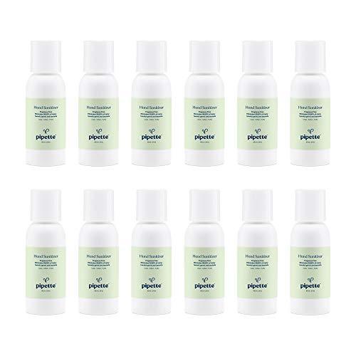 Pipette Hand Sanitizer No Rinse Plant-Derived 100% Squalane (2-fl oz, 12-pack)