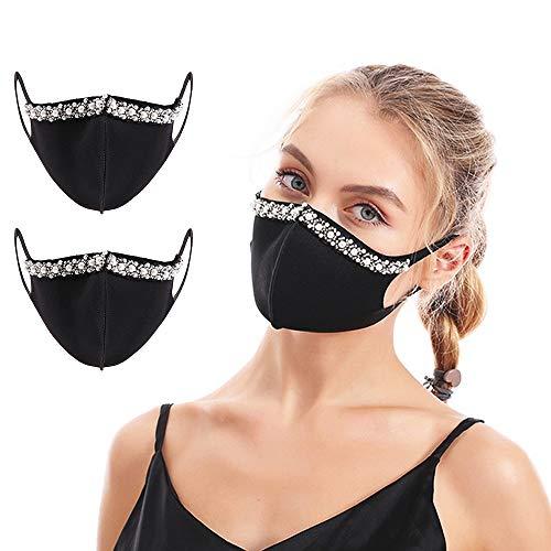 2 Packs Reusable Cloth Face Fashion…