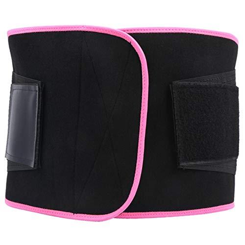 FECAMOS Cintura cómoda de Llevar práctica, para Entrenamiento Deportivo y Fitness(L)