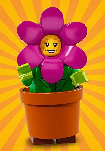 LEGO Serie 18 FIORIERA GIRL Minifigure (#14/17) - Bagged 71021