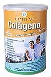 DIMEFAR - Colágeno Forte Polvo - Sabor Tropical - Refuerzo y Mantenimiento Dolor de Huesos, Músculos, Articulaciones - Cúrcuma + Cálcio + Vitamina D3 + K2 + C + Magnesio + Ácido Hialurónico, 300g