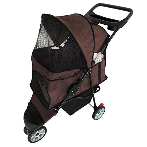 The Babys Pet 10kg Brown Dog Cart