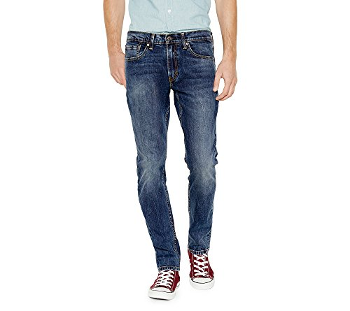 Levi's Men's 511 Slim Fit Jean, Black Stone – Stretch, 32W x 32L