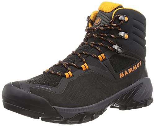 Mammut Herren Sapuen High GTX Traillaufschuh, Black-Dark Radiant, 43 1/3 EU