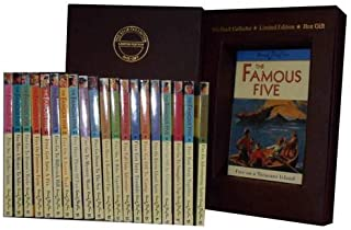 Enid Blyton Famous Five Series: Five on Treasure Island, Five Go Adventuring Again, Five Run Away Together, Five Go to Smu...