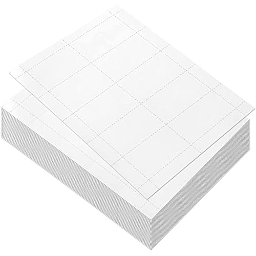 Blank Business Cards for Printer, 3.5 x 1.9 in (100 Sheets, 1000 Pieces)