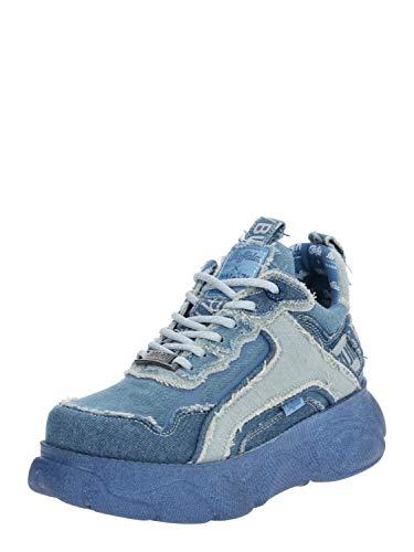 Buffalo Damen Sneaker Low x J1MO71 by Lisa & Lena - Denim Style Blue Denim 39