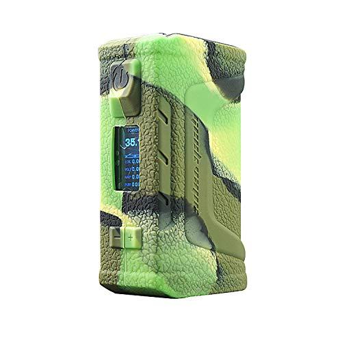 DSC-Mart Texture Case for GeekVape Aegis Legend 200W Mod, Anti-Slip Silicone Skin Cover Sleeve Wrap Gel (Camo)
