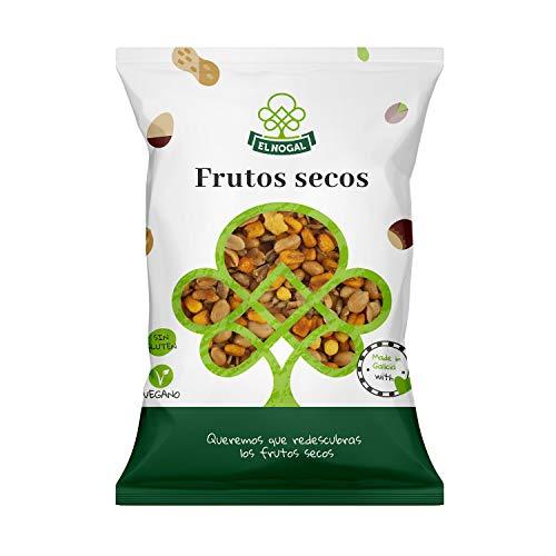 EL NOGAL Frutos Secos Cóctel de Frutos Secos Variados Bolsa, 1000 G