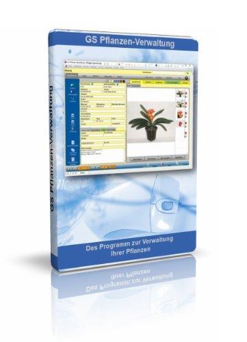 GS Pflanzen-Verwaltung - Software zur Verwaltung Ihrer Pflanzen - Datenbank Programm für Pflanzen