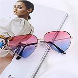 Gafas duraderas Retro de la moda gafas de sol de las mujeres del corazón vidrios de Sun de la lente de las gafas de sol de aleación femenina montura de las gafas conductor Gafas de accesorios del coch