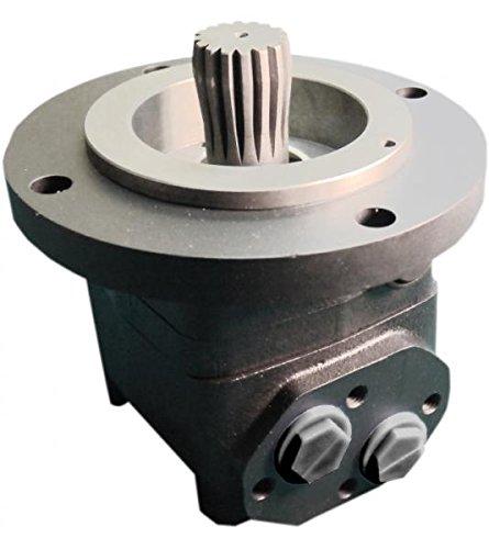Hydraulikmotor CPMTS, Schluckvolumen wählbar von 160 cm3/U – 800 cm3/U, Anschlüsse: G 3/4'', Modell Axialverteilerventil, Shortflansch für Anbau an Getriebe oder Bremse Größe 315 ccm