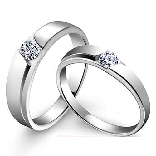 Ringe für Damen & Herren Unisex Mehrfachring Glaube, Liebe, Hoffnung Ring,G