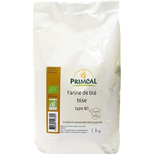 Priméal Farine de Blé France BIO T80 1 kg