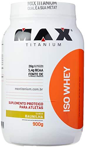 Iso Whey - 900G Baunilha - Max Titanium, Max Titanium