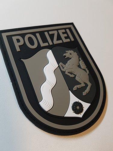 ATG Ärmelabzeichen Polizei NRW 3 D Rubber Patch (BlackOps)