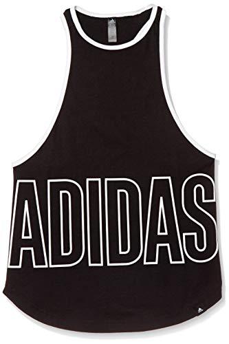 adidas Alpha TNK GFX W T-Shirt, Mujer, Black, M