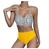 Bañadores Mujer Bikinis Push up Juveniles de Moda Sujetador con Relleno | Brasileño | Trajes de Dos Pieza | Playa | Sexy | Vintage