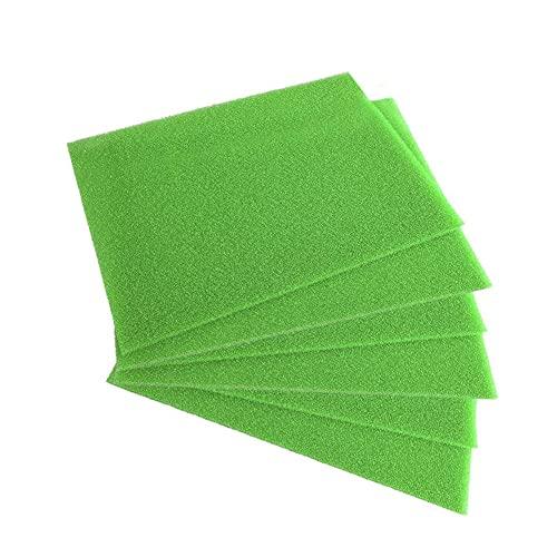 Xuebai Esponja de filtro para cajones de refrigerador, a prueba de moho, frutas y verduras