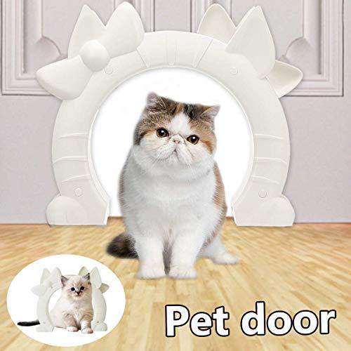 Maogoumao kat en hond deur huisdier deur voor interieur binnen, DIY past de meeste standaard deur maten, voor katten tot 17cm