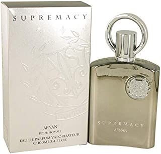 Supremacy Pour Homme by Afnan Eau De Parfum Spray For Men 3.4 Oz / 100 ml