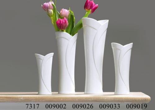 Ritzenhoff & Breker Vase DIANA 20cm - Porzellan weiß