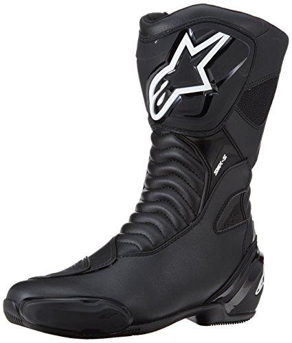 ALPINESTARS Motorradstiefel SMX S Stiefel Sport Boots atmungsaktiv schwarz Größe 42