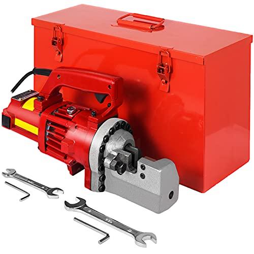 Happybuy Electric Hydraulic Rebar Cutter, 1250W Portable Electric Rebar Cut 3/4