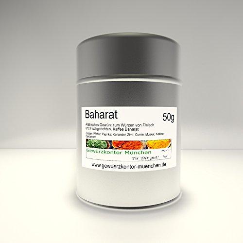 Premium Baharat Orient Gewürz 50g im Streuer