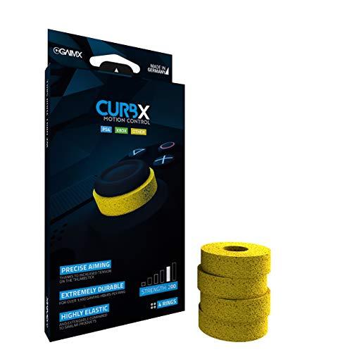 GAIMX CURBX 200 Motion Control – Diana y amortiguador para thumbstick – Mejora de puntería para Playstation 4 (PS4), XBOX One y XBOX 360 (grosor 200)