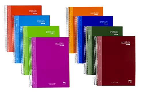 Paquete 4 cuadernos PACSA A4 PREMIUM EXTRA