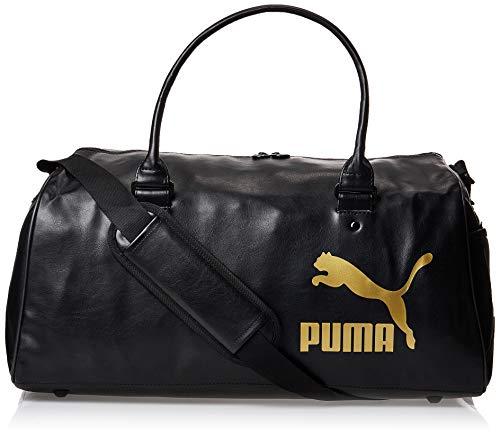 PUMA Unisex– Erwachsene Originals Grip Bag Retro Sporttasche, Black, OSFA
