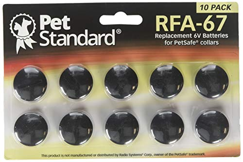 Photo de piles-compatible-petsafe-rfa-67-lot-de-10