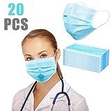 20 desechable 3 Capas con Pendientes elásticos Transpirable Antipolvo