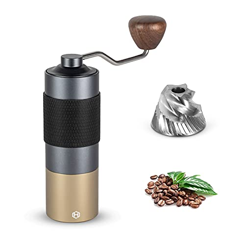 Manual Coffee Grinder - HEIHOX Hand Coffee Grinder with...