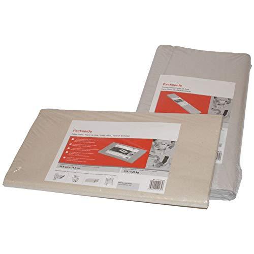Smartboxpro 253160108 Pack soie sur feuilles, (B) 500 x (T) 750 mm, gris