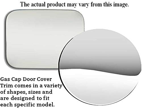 QAA FITS Trailblazer 2002-2009 Chevrolet (1 Pc: Stainless Steel Fuel/Gas Door Cover Accent Trim, 4-Door, SUV) GC42290
