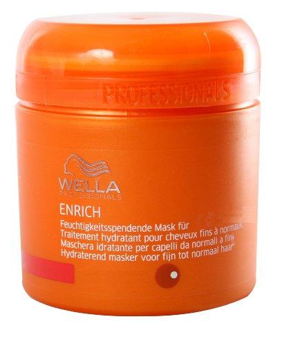 Wella Professionals Enrich unisex, Feuchtigkeitsspendende Mask für kräftiges Haar 150 ml, 1er Pack (1 x 1 Stück)