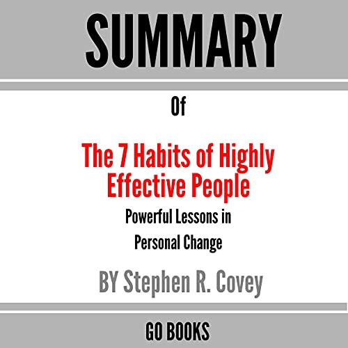 Summary of The 7 Habits of Highly Effective People cover art
