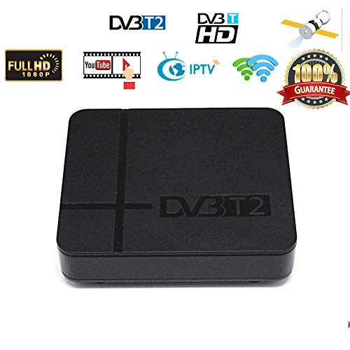 Leoie DVB-T2 K2 HD Digital TV Terrestrial Receiver Support YouTube FTA H.264 MPEG-2/4 PVR TV Tuner Full HD 1080P Set Top Box UK Plug