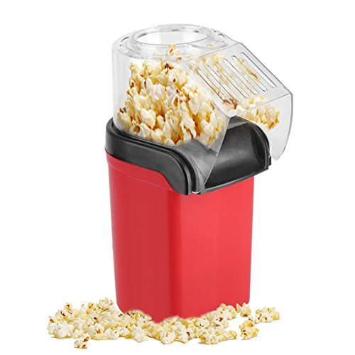 Discover Bargain Asixx Electric Popcorn Maker, 1200W Mini Electric Popcorn Maker Hot Air Popcorn Mak...