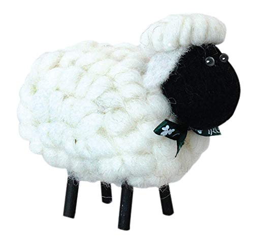 Shamrock Gift Co. Irish Sheep Ornament (4 Colors) (Black Face)