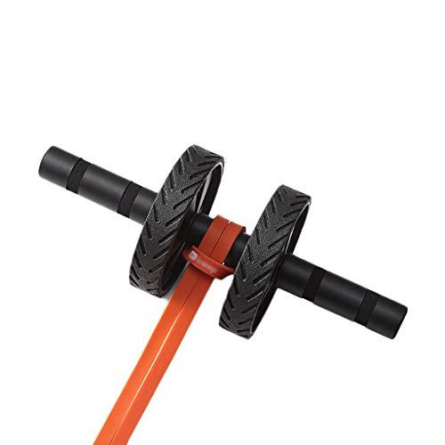 Stone Home Bauchtrainer Heimfitnessgeräte Bauchmuskeln Rad-Training Bauchmuskeln Rad Doppel-Runde Rebound (Size : C)